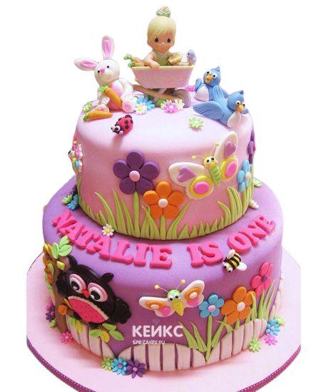 Эксклюзивный Детский торт для Девочки 14