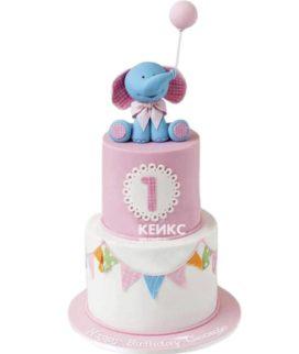 Эксклюзивный Детский торт для Девочки 15