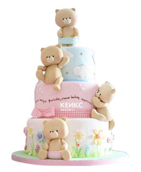 Эксклюзивный Детский торт для Девочки 17