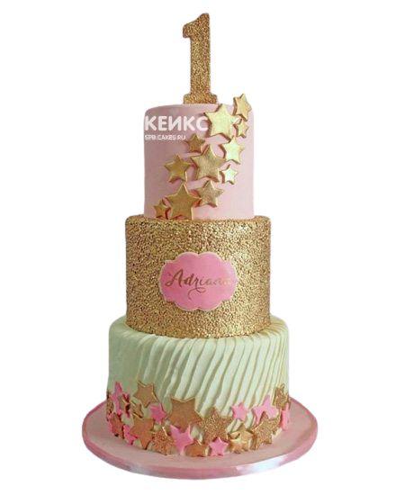 Эксклюзивный Детский торт для Девочки 2