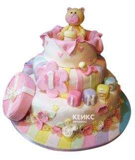 Эксклюзивный Детский торт для Девочки