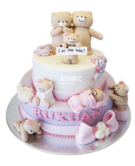 Эксклюзивный Детский торт для Девочки 3