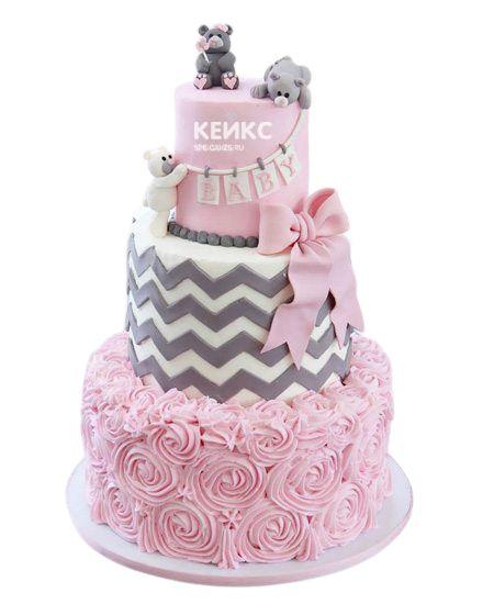 Эксклюзивный Детский торт для Девочки 4
