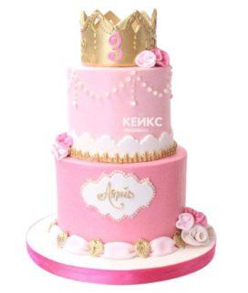 Эксклюзивный Детский торт для Девочки 5
