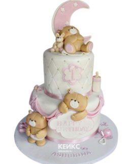 Эксклюзивный Детский торт для Девочки 6