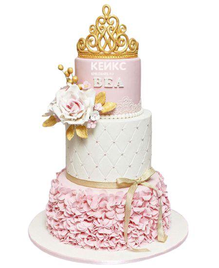 Эксклюзивный Детский торт для Девочки 7