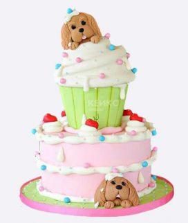 Эксклюзивный Детский торт для Девочки 8
