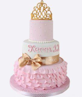 Эксклюзивный Детский торт для Девочки 9