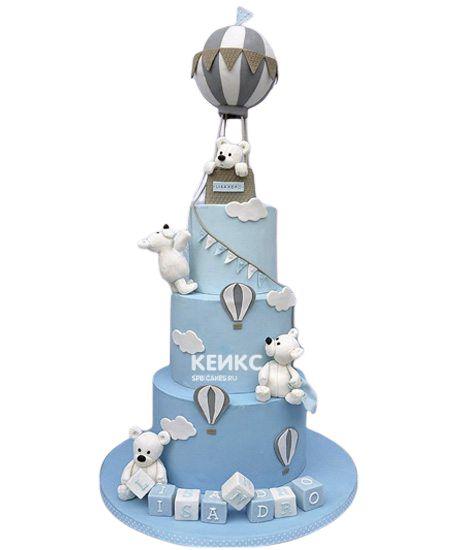 Эксклюзивный Детский торт для Мальчика 1