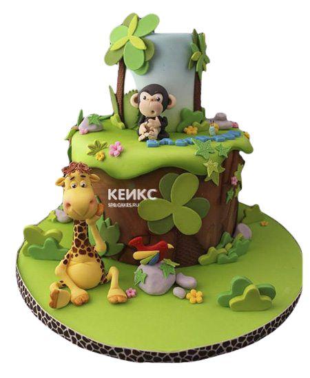 Эксклюзивный Детский торт для Мальчика 13