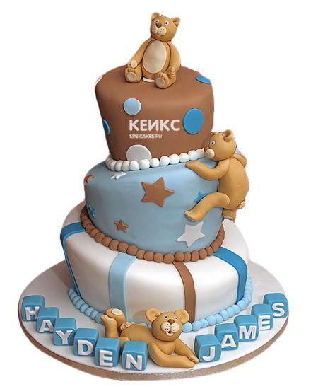 Эксклюзивный Детский торт для Мальчика 20