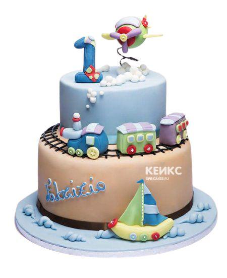 Эксклюзивный Детский торт для Мальчика 7