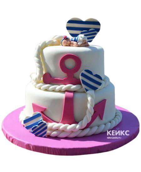 Торт для двойняшек Девочке