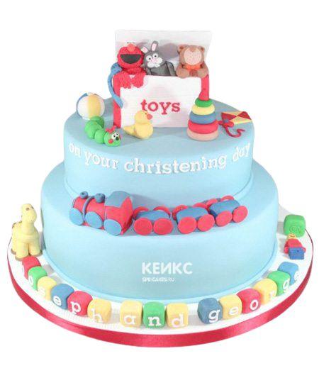 Торт для двойняшек на годик 13