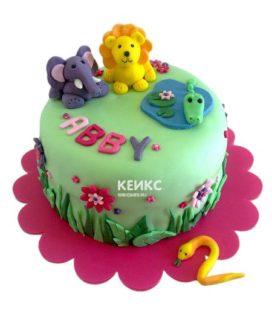 Торт для двух именинников 11