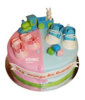 Торт для двух именинников 12