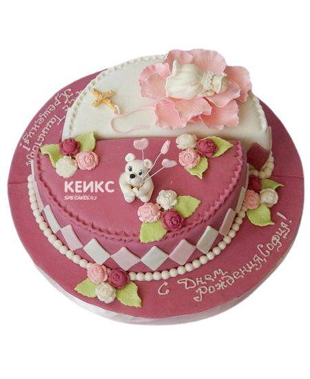 Торт для двух именинников 8