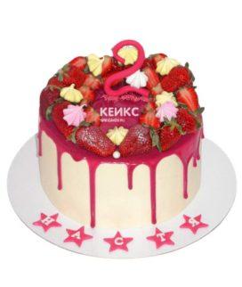 Торт Ягодный для девочки