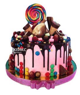 Торт Ягодный для девочки 1