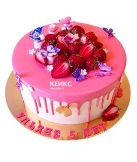 Торт Ягодный для девочки 11