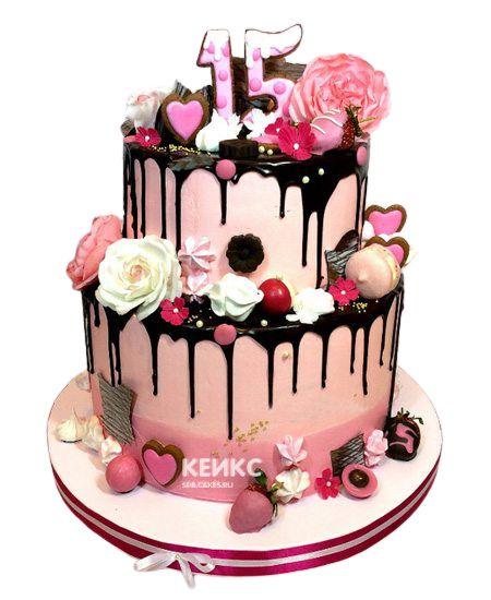 Торт Ягодный для девочки 13