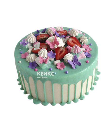 Торт Ягодный для девочки 15