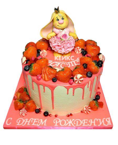 Торт Ягодный для девочки 18
