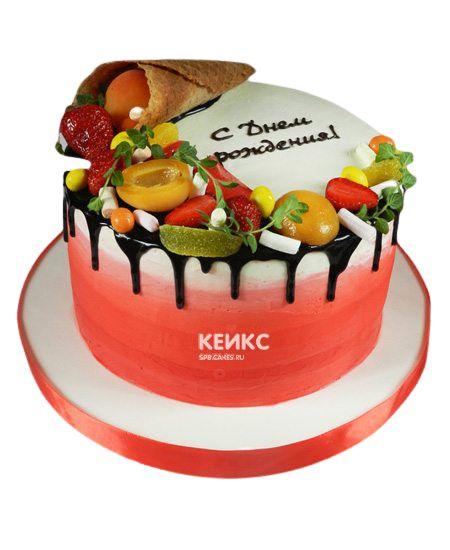Торт Ягодный для девочки 2