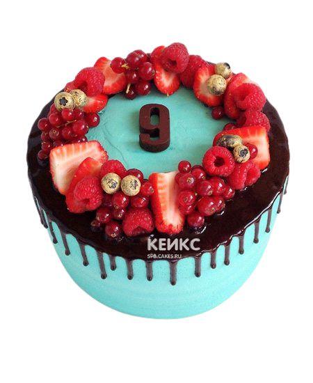 Торт Ягодный для девочки 6