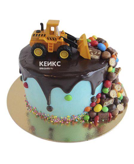 Торт Ягодный для мальчика 10