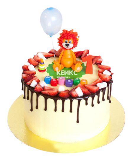 Торт Ягодный для мальчика 12