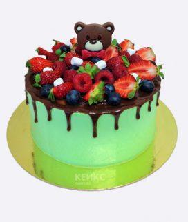 Торт Ягодный для мальчика 14