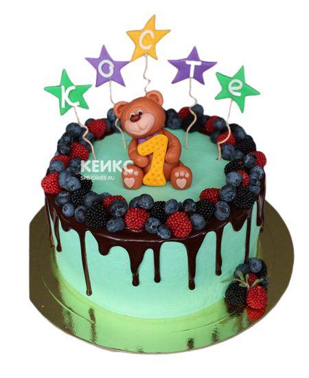 Торт Ягодный для мальчика 16