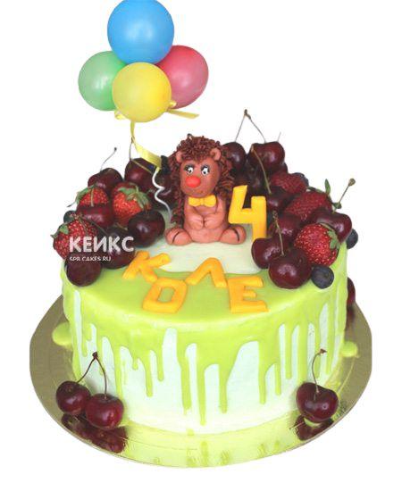 Торт Ягодный для мальчика 2