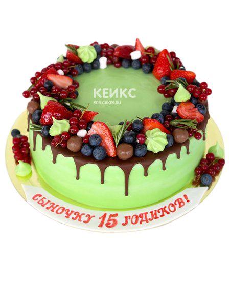 Торт Ягодный для мальчика 3