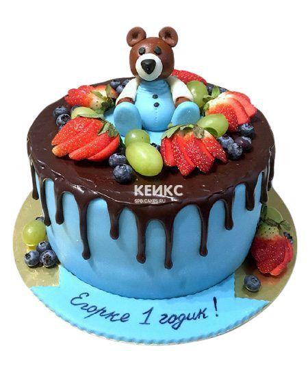Торт Ягодный для мальчика 4