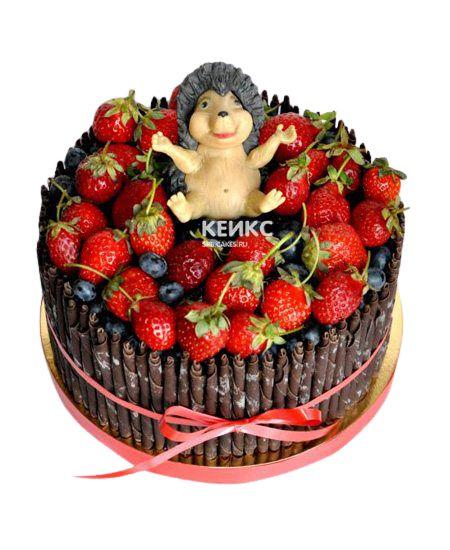 Торт Ягодный для мальчика 9