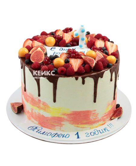 Торт Ягодный на годик 10