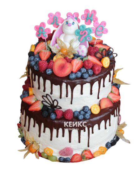 Торт Ягодный на годик 11
