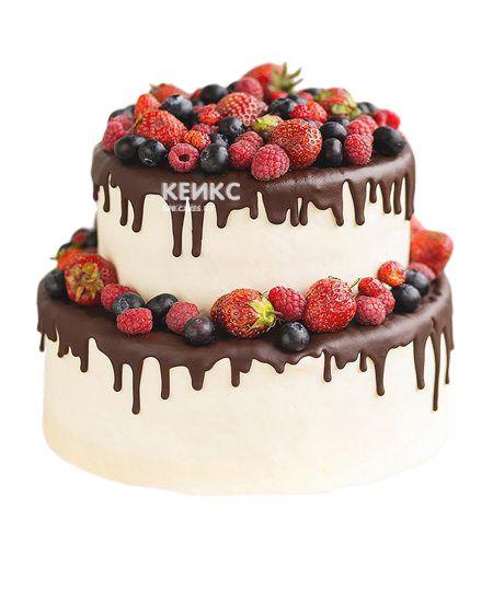 Торт Ягодный на годик 2