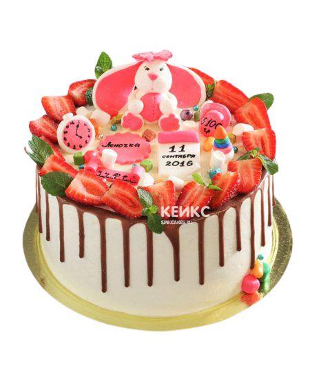 Торт Ягодный на годик 4