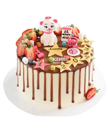 Торт Ягодный на годик 5
