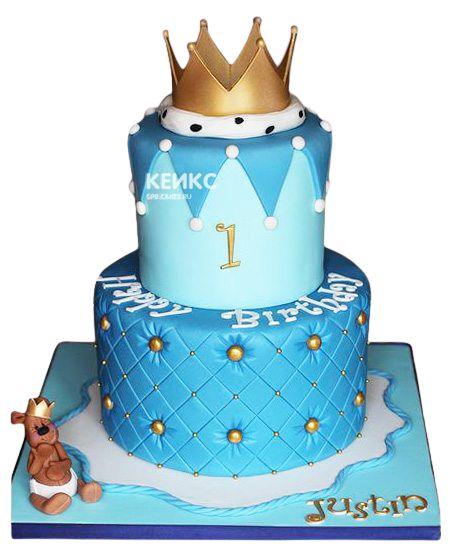 Торт Корона для мальчика 6