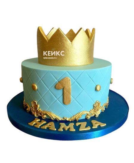 Торт Корона для мальчика 7