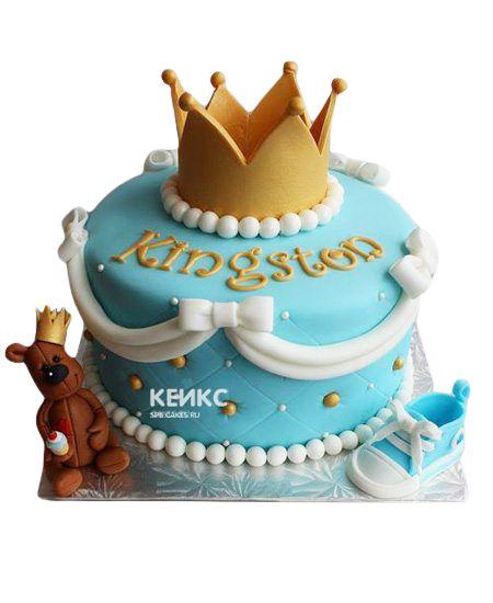 Торт Корона для мальчика 8