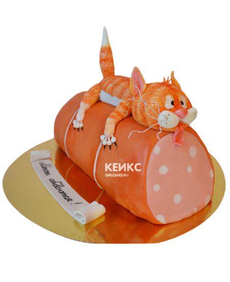Торт Кот на колбасе 5