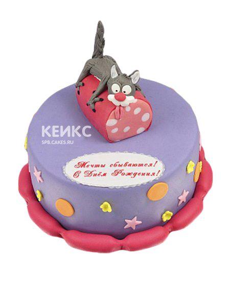 Торт Кот на колбасе 8