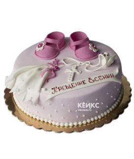 Торт на Крещение Крестины 13