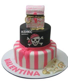 Торт Пираты 14