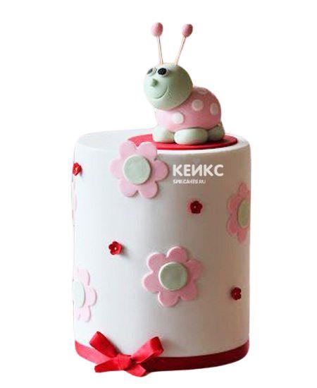 Торт с цветами для девочки 19